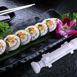 $25.99(原价$35.99)寿司制作13件套装 一次搞定所有制作材料 竹席、菜刀、鳄梨刀