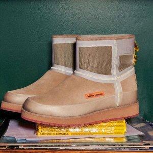 $655 两色选 潮流小心机Heron Preston x UGG 限定合作款 雪地靴热卖