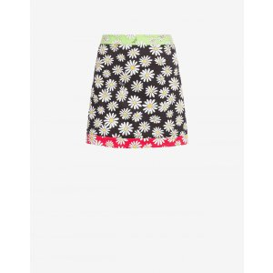 MoschinoPique mini skirt Daisy Patchwork - Manifesto Daisy - Boutique Moschino | Moschino Official Online Shop