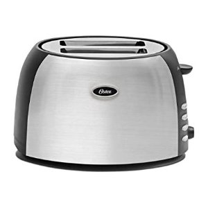$17.99Oster Oster 2 Slice Toaster, Brushed Stainless