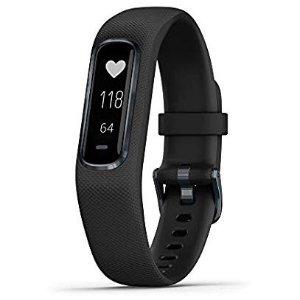 $99.99 (原价$129.99)Garmin vívosmart 4 智能手环 心率+血氧饱和度检测