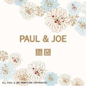 3月即将发售!超萌日系美衣新品预告:Uniqlo联名 X Paul & Joe合作款服饰预告 可爱花花和猫咪 满满的少女心