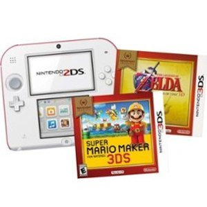 2ds Console Bundle With New Super Mario Bros 2 Extra Game