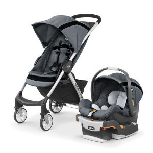 ChiccoMini Bravo Sport Travel System - Carbon