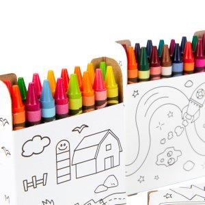 $9.97白菜价:Crayola 168色蜡笔超值套装 画画必备 安全无毒