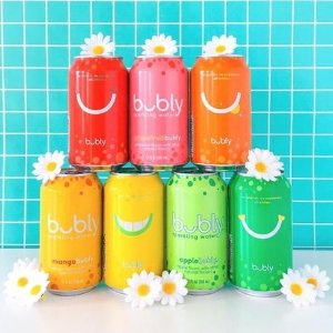$6.39bubly Sparkling Water, 12 ounce Cans (Pack of 18) @ Amazon.com