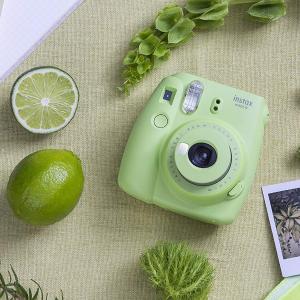 限时秒杀¥322史低价:Fujifilm instax mini 9 拍立得 青柠绿