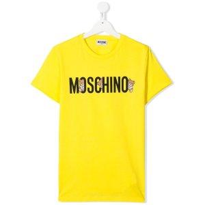Moschino Kids小熊T恤