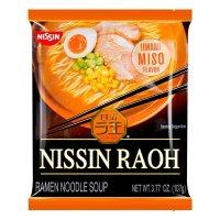 NISSIN日清 RAOH 猪骨浓汤拉面 味噌味 107g