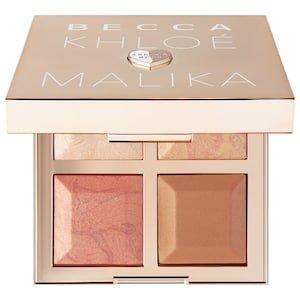 BECCA x Khloé Kardashian & Malika Haqq Bronze, Blush & Glow Palette - BECCA | Sephora