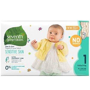 6折起 好价错过等一年Seventh Generation 婴儿纸尿裤、湿巾、洗衣液大促