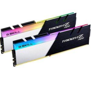 仅需$459 64GB (2x32GB)G.SKILL 芝奇 Trident Z Neo 系列 台式机内存