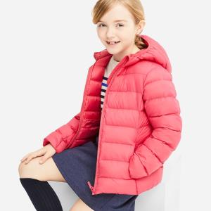 UNIQLO 儿童轻量保暖外套、HEATTECH 热暖内衣、卫衣等优惠