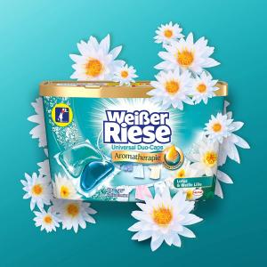 80颗仅€9.74Weißer Riese 洗衣球 洗护合一 彩色版/通用版 超值家庭装