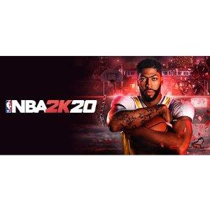 $4.8白菜价:《NBA 2K20》Steam 数字版, 国区价更低