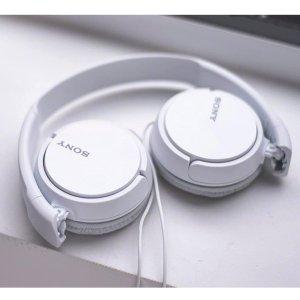 $9.99可折叠白菜价:Sony MDR-ZX110 便携耳机