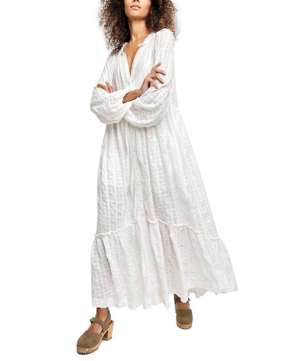 慵懒风长裙 封面相似款