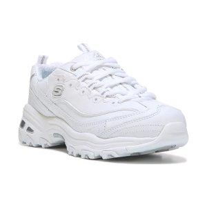 Skechers 纯白老爹鞋