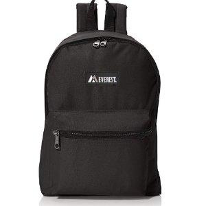 $13.36 (原价$17.95)Everest 中号双肩包 上学、野餐、旅游一包管够