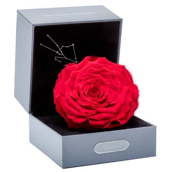 星座经典永生玫瑰花盒