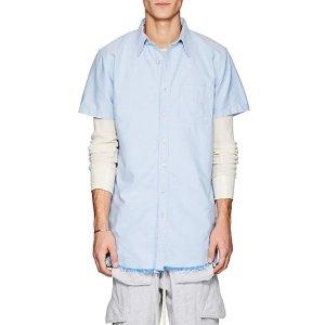 NSFCotton Oxford Elongated Shirt Cotton Oxford Elongated Shirt