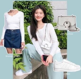 Superstar 纯白女鞋