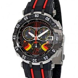 $299TISSOT T-Race Stefan Bradl Chronograph Men's Watch T0924172705702