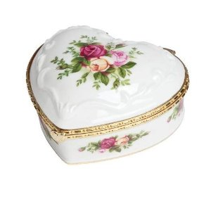 $19.99Royal Albert Old Country Roses Heart 4-Inch Jewelry Box If You Love Me