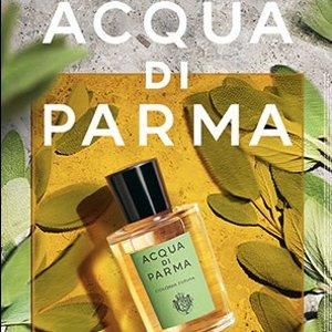 线上8.8折+额外9折+送Q香上新:Acqua di Parma 帕尔玛之水 2020新款柑橘香 夏季小清新