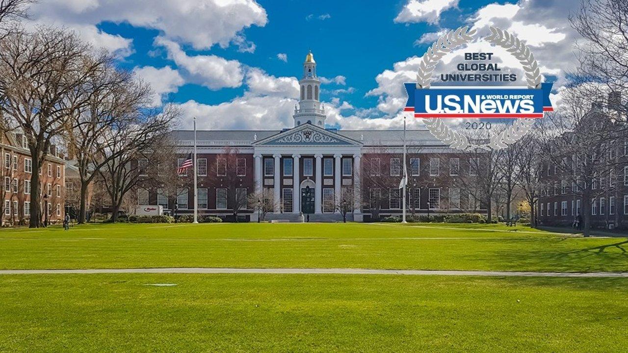 2020 世界大学排名 |清华大学第36! US News最新全球大学排名榜单