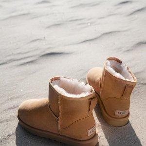 低至3折 何穗同款直降$210UGG 折扣区休闲美鞋促销  雪地靴$50+