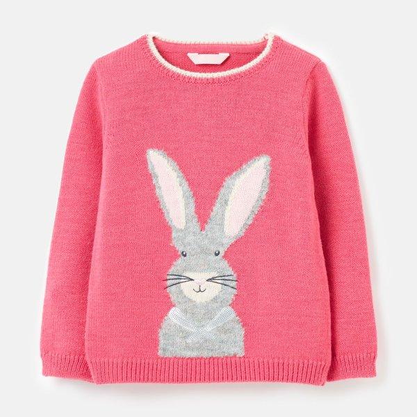 女孩兔子毛衣