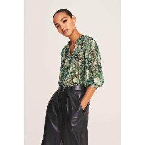 BA&SHQUINCY. Print blouse