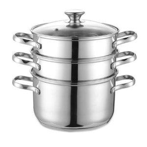 Cook N Home NC-00313 不锈钢多层蒸煮套锅