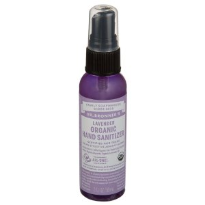 Hand Sanitizing Spray - LAVENDER (2 Fluid Ounces Liquid) by Dr. Bronners at the Vitamin Shoppe