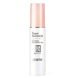 2个直邮美国到手价$63.5Acseine 修正肤色 粉盖 防晒隔离乳EX SPF50+ PA++++
