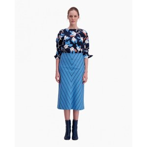 Pouta Kiskoraita skirt - blue, dark blue - 40% Off - SALE - Marimekko.com
