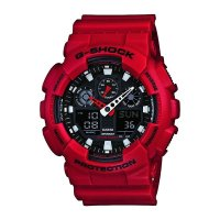 Casio  XL Series G-Shock 红色款
