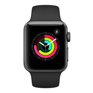 38mm $199 42mm $229补货:Apple Watch Series 3 GPS 智能手表