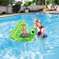 H2OGO! 防紫外线遮阳 小乌龟造型婴儿泳圈
