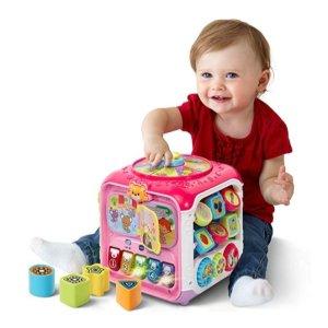 $20(原价$29.99)VTech 儿童益智六面体玩具,颜色、数字、音乐早GET