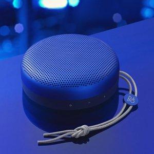 现价£99.99(原价£250)手慢无:B&O Beoplay A1 便携式蓝牙音箱 午夜蓝