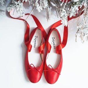 低至4折 $188起Repetto 芭蕾单鞋等热卖  收红舞鞋  不穿高跟一样优雅