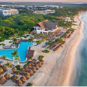 低至$89起 含餐饮+住宿+娱乐等墨西哥坎昆4星级海滨天堂 全套房全包度假酒店