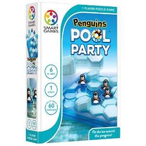 企鹅的游泳池派对