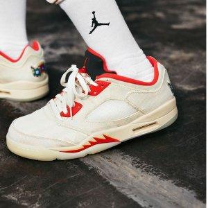 """$215+包邮Nike官网 Air Jordan 5 Low """"CNY""""新春刮刮乐发售"""
