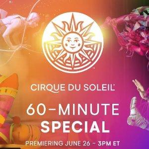免费看 本周看三场大秀精彩片段Cirque du Soleil太阳马戏团官网60分钟特别节目每周五上新