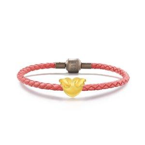 Charme 'Cute & Pets' 999 Gold Heart Charm | Chow Sang Sang Jewellery eShop