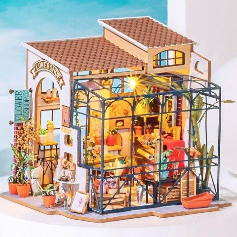 $23起 咖啡屋、八音盒任你拼还在玩普通拼图?若态3D益智拼图,天猫畅销玩具品牌