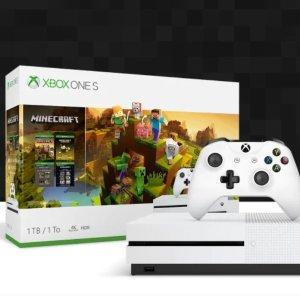 $229(原价$379)黒五价:Xbox One S 1TB《我的世界》同捆套装